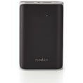 Powerbank - 2 x USB - 7500 mAh - 3.1A - Sort