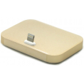Lightning Dockingstation - Aluminium - Guld
