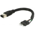 Firewire adapter kabel - FireWire A til pin header