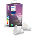 Philips Hue GU10 BT White and Color - 2 stk.