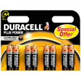 Duracell Plus Power alkaline AA batteri - 8 stk.