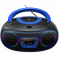 Denver Bluetooth Boombox CD/FM/USB - Blå