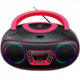 Denver Bluetooth Boombox CD/FM/USB - Pink
