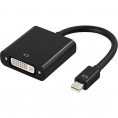 Mini Displayport til DVI Adapterkabel - Sort - 0.15 m