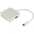 Mini Displayport til HDMI/DVI/DisplayPort adapter kabel