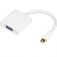 Mini Displayport til VGA Adapter - Hvid