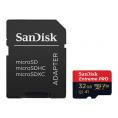 SanDisk Extreme Pro Micro SDHC - 32 GB - UHS-I A1 - Class 10