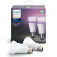 Philips Hue E27 - White and Color - 2 stk.
