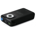 Puro Uni. Fast Charger Power Bank - 9000 mAh - Sort