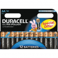Duracell Ultra Power alkaline AA batteri - 12 stk.