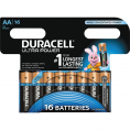 Duracell Ultra Power alkaline AA batteri - 16 stk.