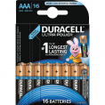Duracell Ultra Power alkaline AAA batteri - 16 stk.