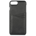 Essentials iPhone 6/7/8 Plus, PU Triple Card Cover - Sort