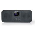Muse M-122 DBT, Radio, DAB+, FM, Bluetooth, Stereo - Sort