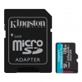 Kingston Canvas Go plus UHS-I U3 microSDXC kort - 128GB