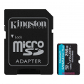 Kingston Canvas Go plus UHS-I U3 microSDXC kort - 256GB
