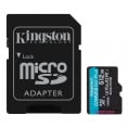 Kingston Canvas Go plus UHS-I U3 microSDXC kort - 512GB
