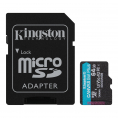 Kingston Canvas Go plus UHS-I U3 microSDXC kort - 64GB