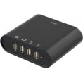 4 ports USB ladestation 230V - 4 x 5V USB, 7A