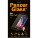 PanzerGlass - iPhone 6/6s/7/8 Curved Edges - Sort