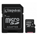 Kingston Canvas Select Micro SDXC - 128 GB - UHS-I U1 - Class 10