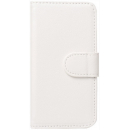 iPhone 5/5S/SE booklet cover - Hvid