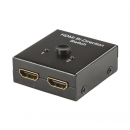 Manuel HDMI switch/splitter - 2 vejs