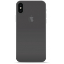 Puro Ultra-Slim 0.3 iPhone X/XS Cover - Transparant