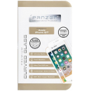 Panzer iPhone 7/8 Curved Silicate Glass - Hvid