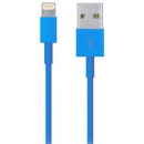 iPod / iPhone / iPad - Lightning USB kabel - Blå - 1 m