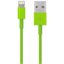 iPod / iPhone / iPad - Lightning USB kabel - Grøn - 1 m