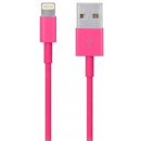 iPod / iPhone / iPad - Lightning USB kabel - Pink - 1 m