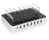 Satechi USB Charging Station Dock - 7-Port - Hvid