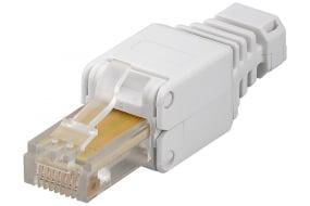 netværksstik rj45 montering