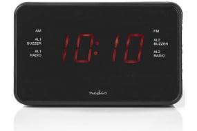 31d66a8496d Køb Nedis Clockradio med vækkeur - 0,9