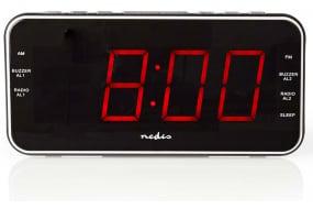 01403e9ecf6 Køb Nedis Clockradio med vækkeur - 1,8