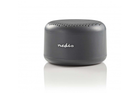 Nedis - Mini Bluetooth højttaler - 9W - Grå