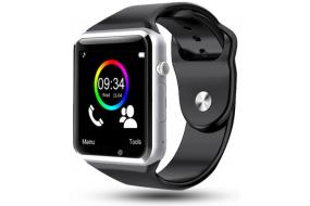 a80a890f24e Køb Smartwatch til Android - Sort på Av-Cables.dk