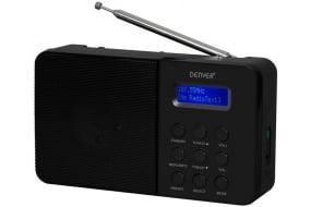 Denver DAB-33 DAB+/FM-radio - Sort